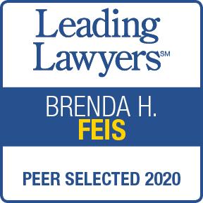 Leading Lawyers, Brenda Feis, Peer Selected 2020