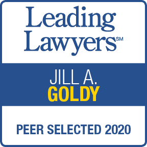Leading Lawyers, Jill Goldy, Peer Selected 2020